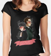 Nygmobblepot Love Women's Fitted Scoop T-Shirt