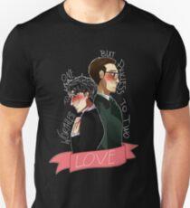 Nygmobblepot Love Unisex T-Shirt