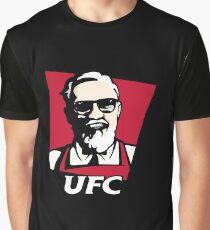 UFC KFC Shirt Graphic T-Shirt