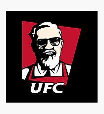 UFC KFC Shirt Photographic Print