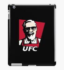UFC KFC Shirt iPad Case/Skin