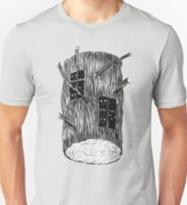 Tree Log With Mysterious Creatures T-Shirt