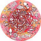 So Many Cute Mushrooms by MarikaMakes