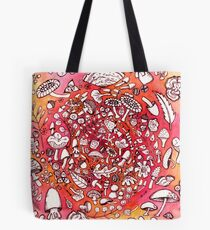So Many Cute Mushrooms Tote Bag
