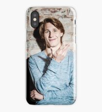Young attractive guy iPhone Case