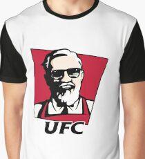 UFC KFC Shirt - Black Font Graphic T-Shirt