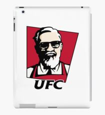 UFC KFC Shirt - Black Font iPad Case/Skin