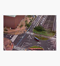 Urban Crosswalk Photographic Print