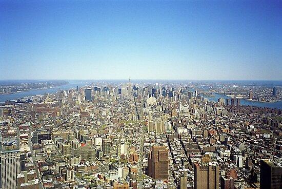 New York Skyline 2 by Flo Smith