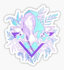 Elf Lady Sticker