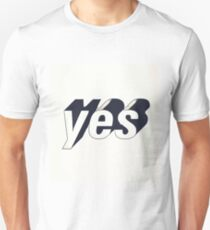 Yes typography T-Shirt