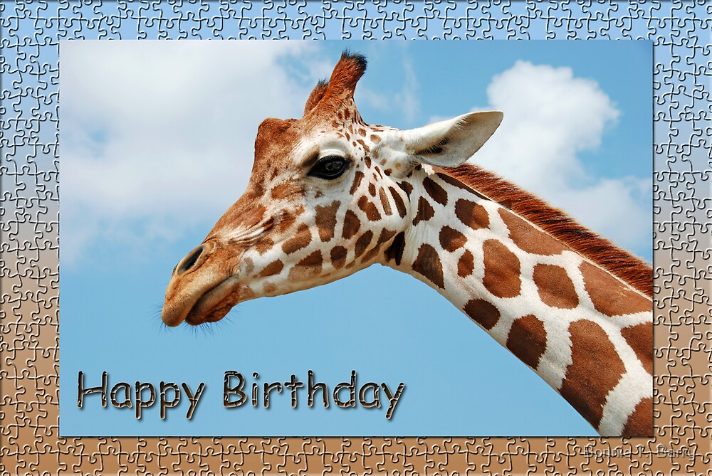 Happy Birthday to Someone I Look Up To . . . by Bonnie T.  Barry