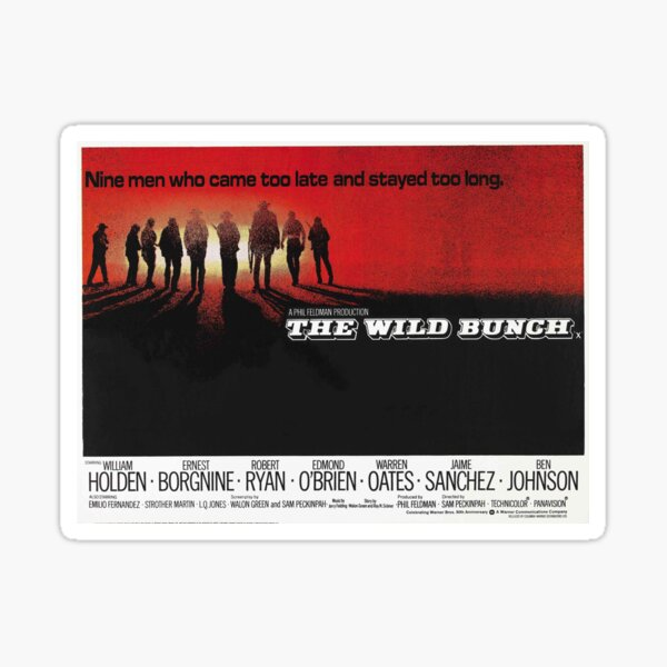 The Wild Bunch Sticker