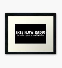 Free Flow Radio #1 Framed Print