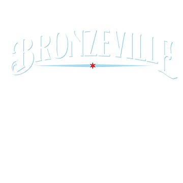 Bronzeville Neighborhood Tee (Dark) by velocitymedia
