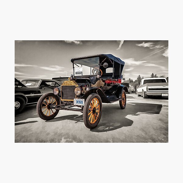 1916 Ford Model T Photographic Print