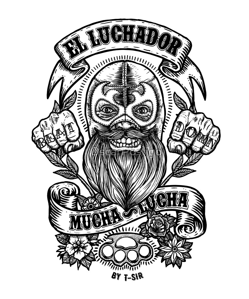 «El Luchador» de OscarPostigo