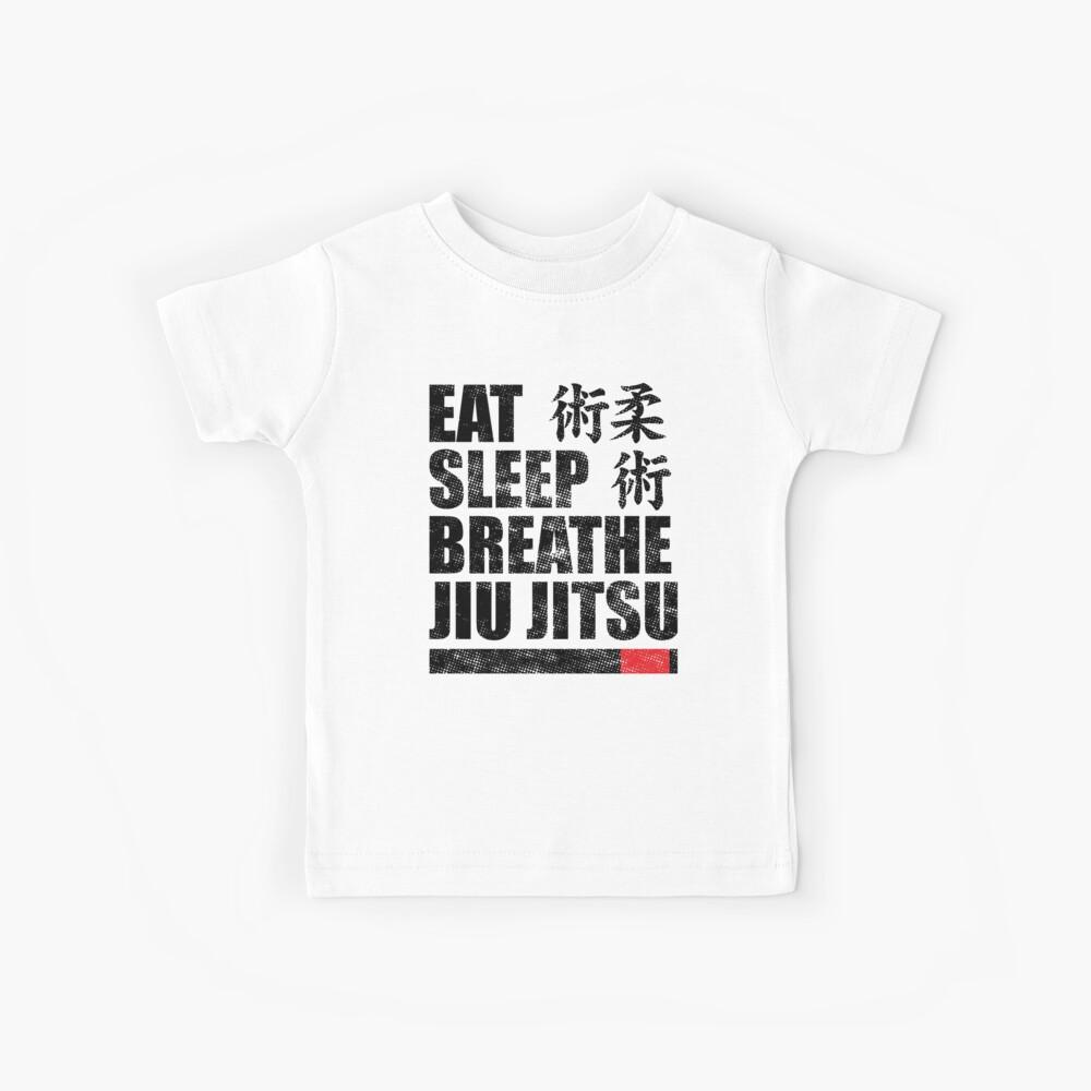 Essen Sie Schlaf Atmen Jiu Jitsu Kinder T-Shirt