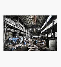 Throw Away America Series - Kekaha Sugar Mill, Kauai, Hawaii Photographic Print