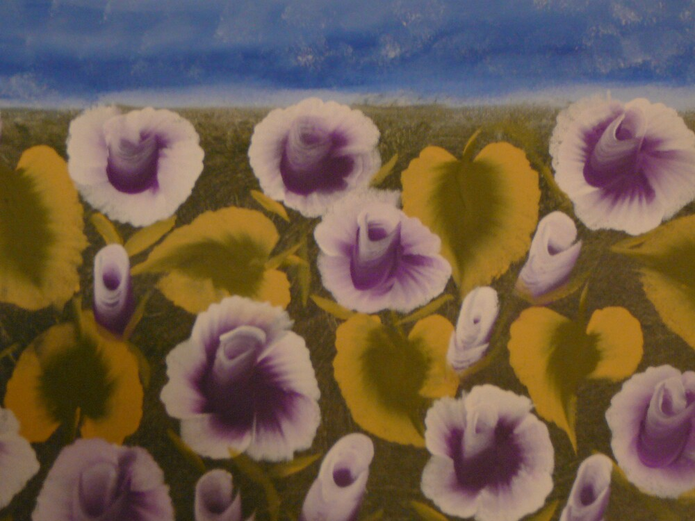 Purple rose by sndrann