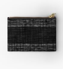 platno (black stripe) Studio Pouch