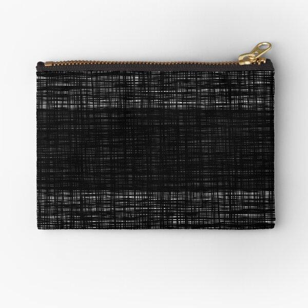 platno (black stripe) Zipper Pouch