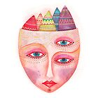 girl with the most beautiful eyes mask by nuanz