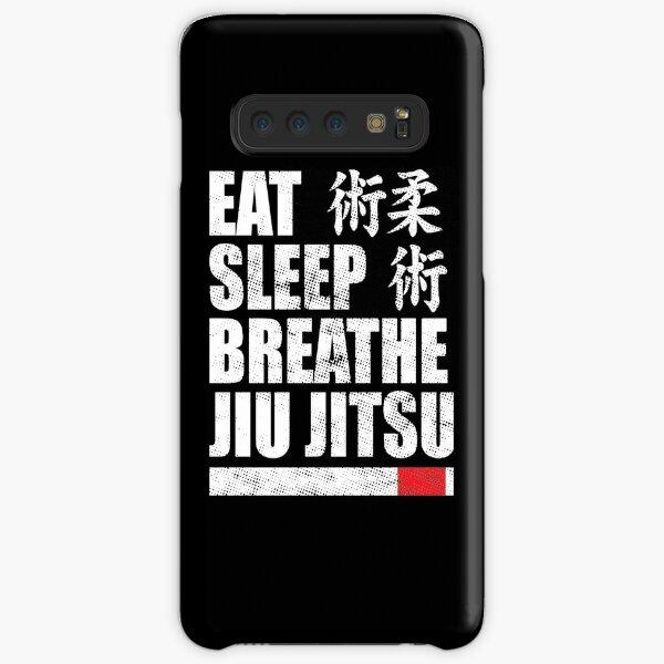 Eat Sleep Breathe Jiu Jitsu Samsung Galaxy Snap Case