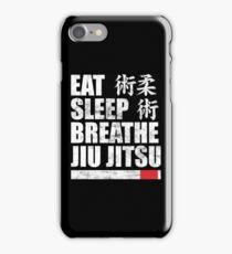 Eat Sleep Breathe Jiu Jitsu iPhone Case/Skin