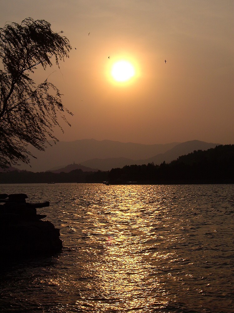 Summer Palace Sunset 4 by kerry625