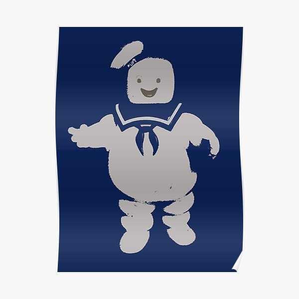 Mr. Stay Puft Marshmallow Man Poster