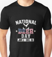 National Beer day Jan 1 Dec 31 tee T-Shirt