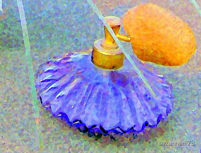 Perfume Bottle by suzannem73