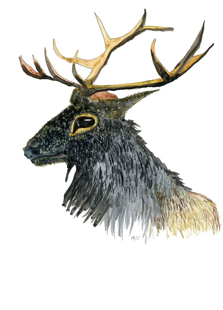 Mister Elk by Gabriele Maurus