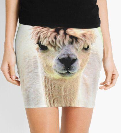 Sweet alpaca Mini Skirt