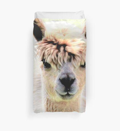 Sweet alpaca Duvet Cover