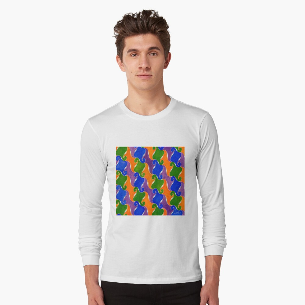 Step & Repeat, No. 3 Long Sleeve T-Shirt