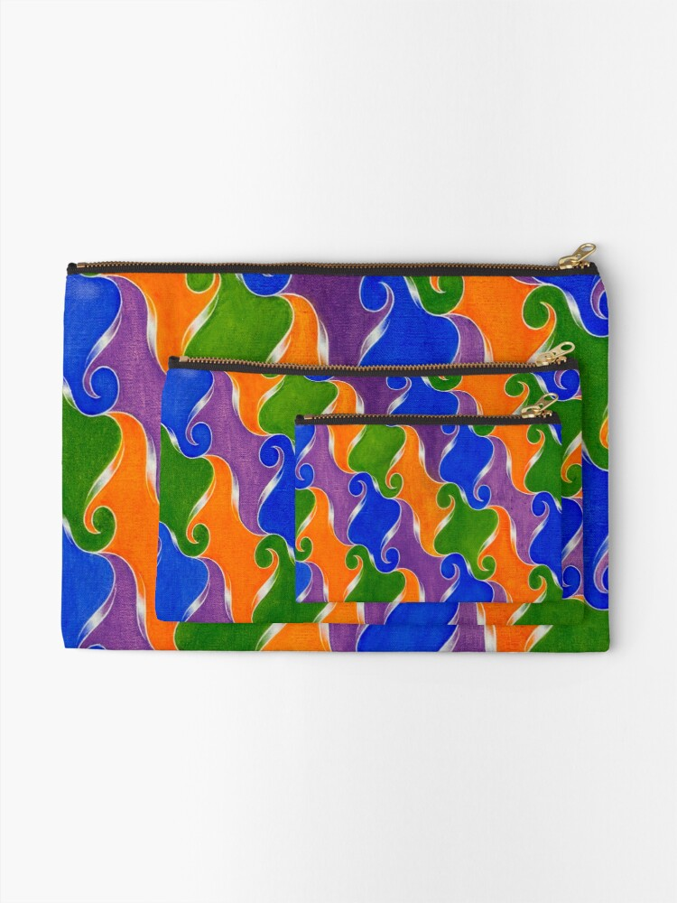 Alternate view of Step & Repeat, No. 3 Zipper Pouch