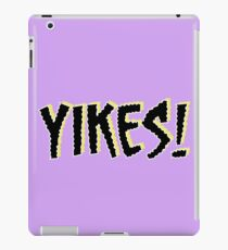 Yikes! Scary Font Quote Scoobydoo iPad Case/Skin