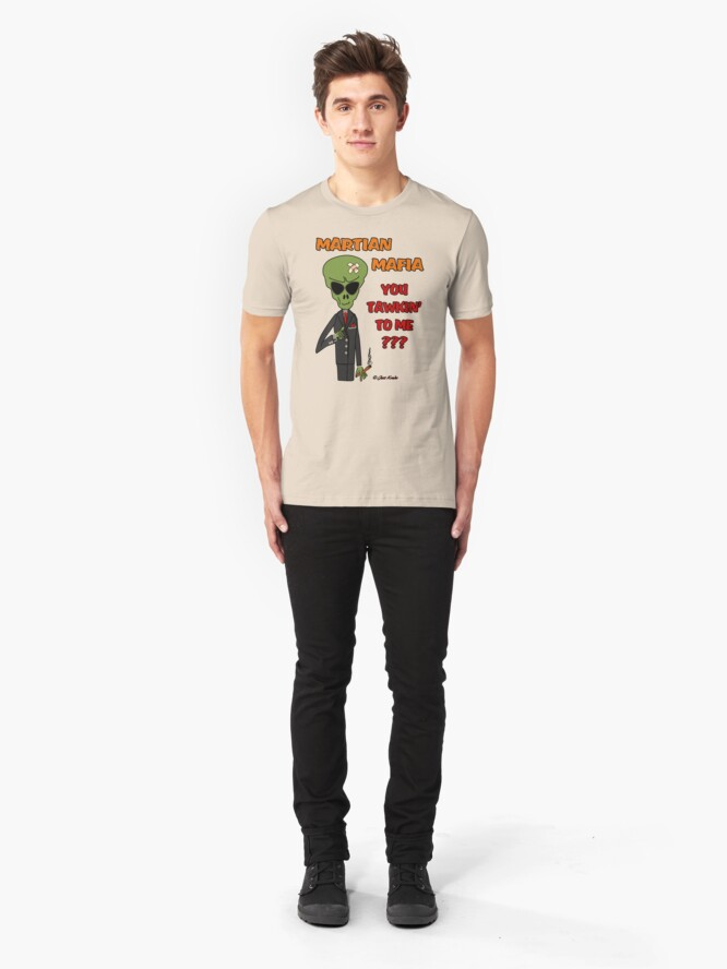 Alternate view of You Tawkin' to Me??? Slim Fit T-Shirt