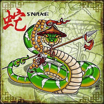 Snake Spear by cowboyreddevil