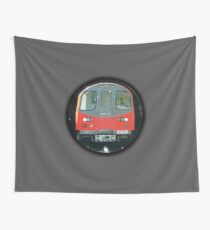 TUBE, TRAIN, Tunnel, London, Underground, UK, GB Wall Tapestry