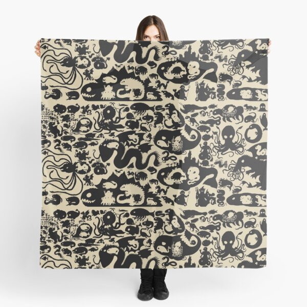 Size Chart of Sea Monsters Scarf