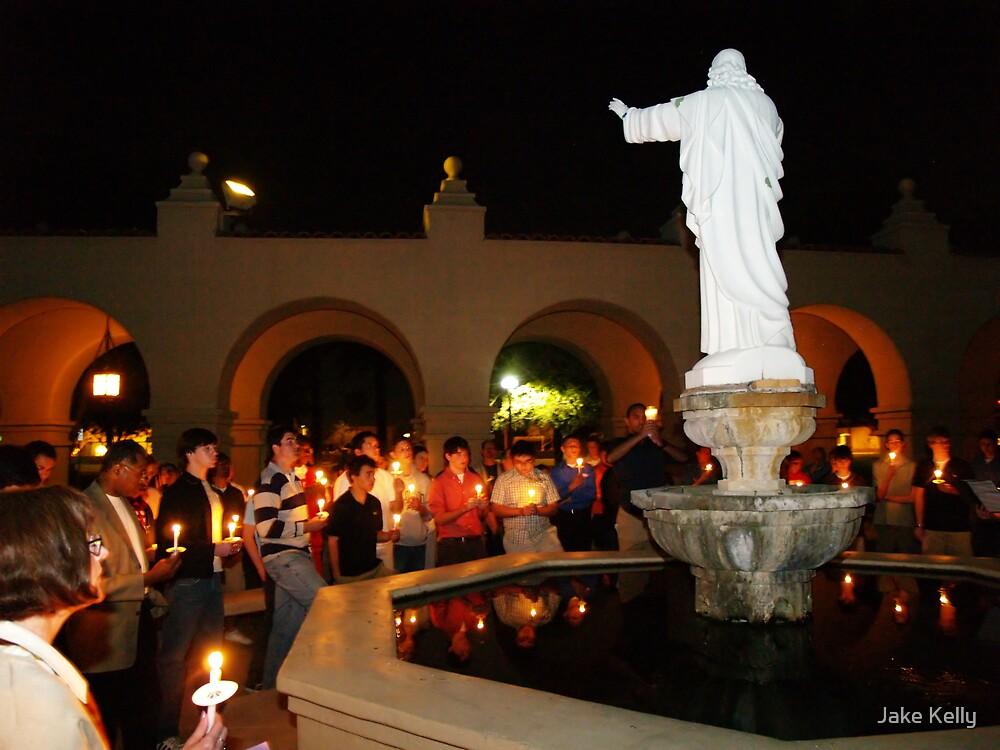 Candle light peace vigil by Jake Kelly