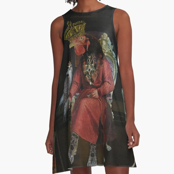 King of Anything A-Line Dress