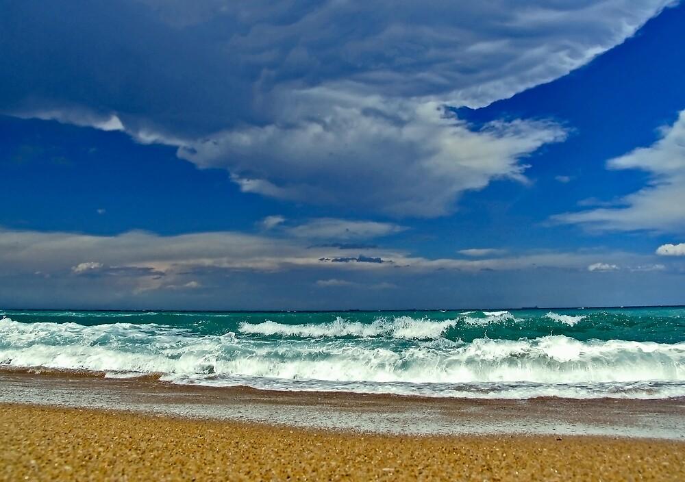 Beach Storm by Steve D