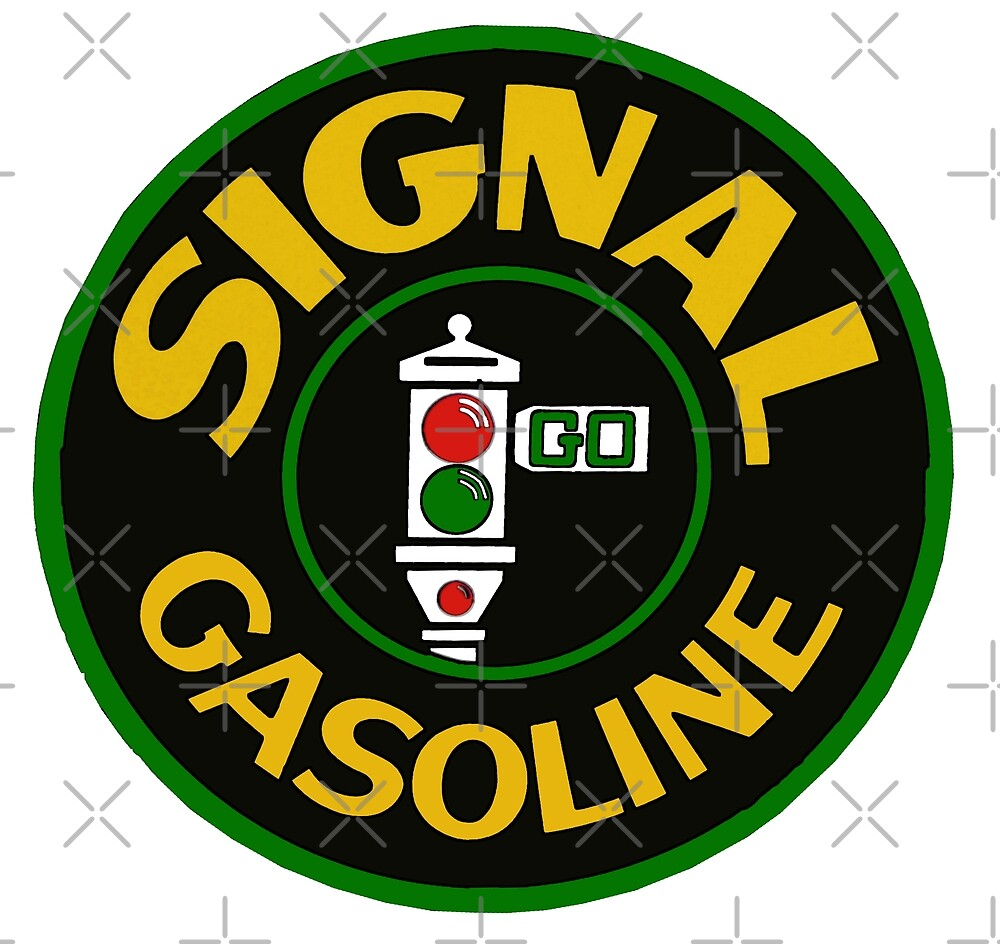 Signal Gasoline Antique Sign by Havocgirl