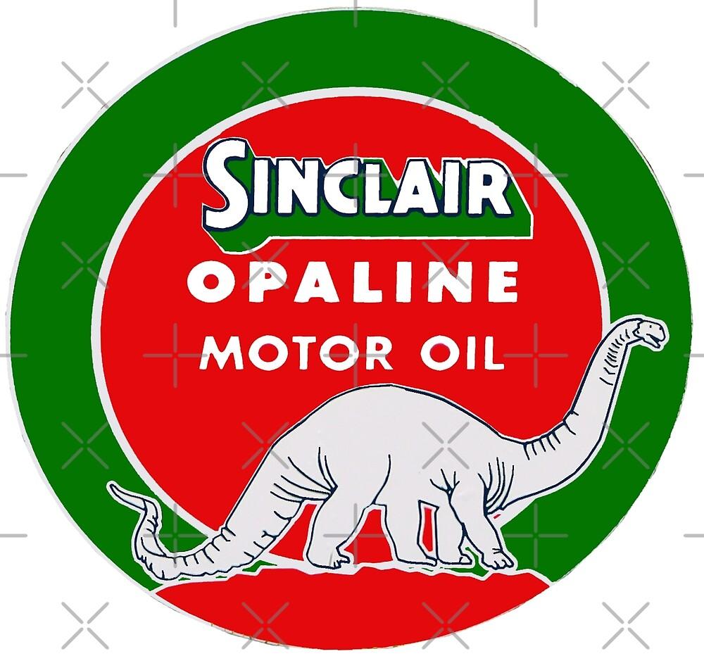 Sinclair Antique Dinosaur Sign by Havocgirl