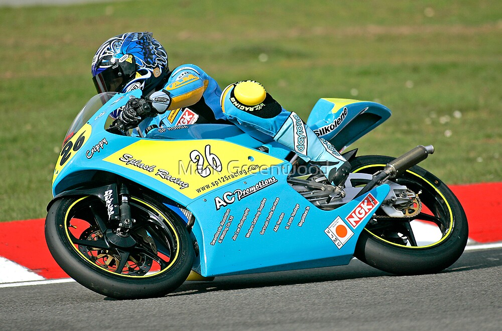 BSB Suppport 125cc by Mark Greenwood
