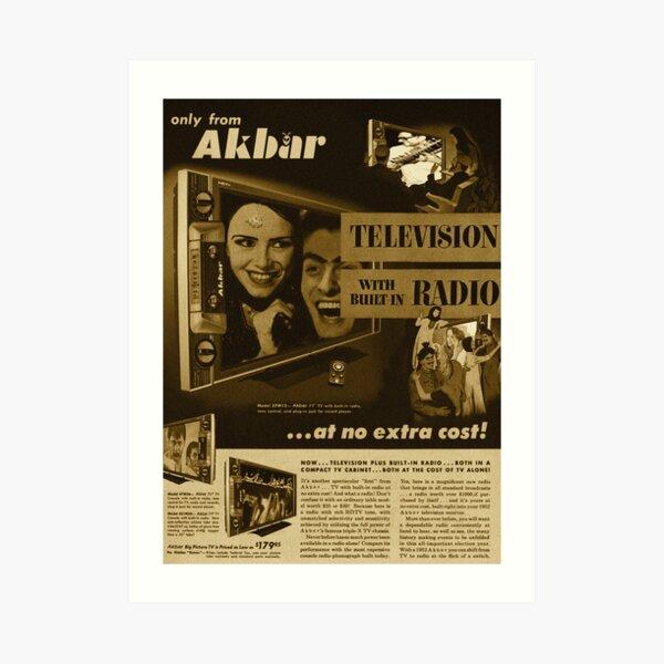 Akbar TV Company [pvt]- Pakistan's best HDTV of 1952 Art Print